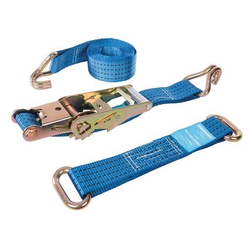 3 Delige Autotransport Sjorbanden Set Voor Stalen Velgen