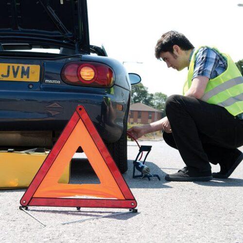 9-delige voertuig noodgevallen set