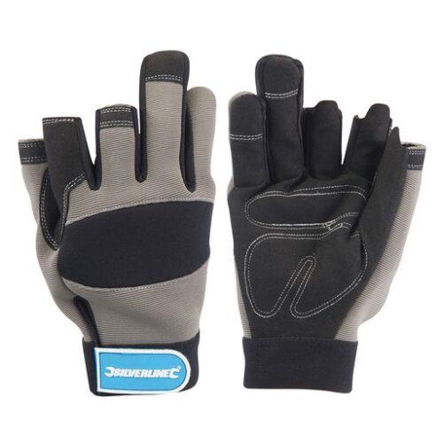werktuig handschoenen met 3 open vingers