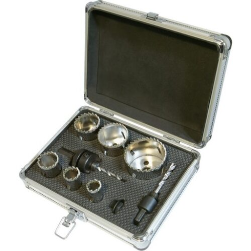 11-delige diamant gatenzaag set 19 - 57 mm