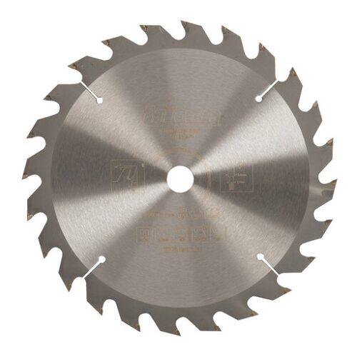 Cirkelzaagblad 190 x 16 mm, 24T