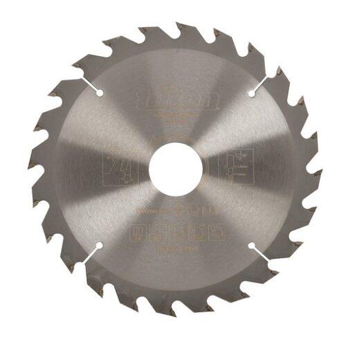 Hout cirkelzaagblad 165 x 30 mm, 24T