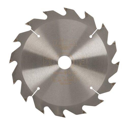 Cirkelzaagblad 165 x 20 mm, 16T