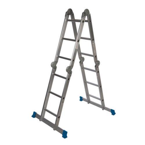 Multifunctionele ladder met platform 3,6 m (12 sporten)