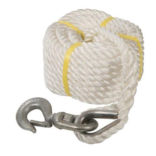 Katrol touw met haak 20 m