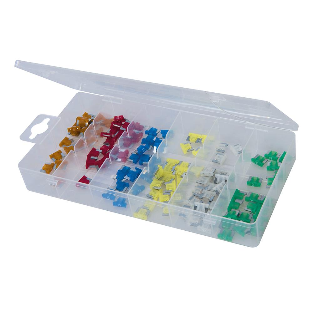 120-delige set micro-zekeringen