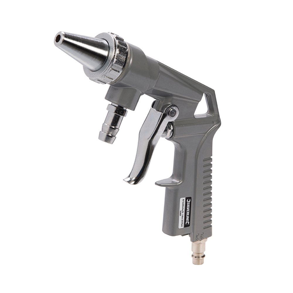 Zandstraalpistool set