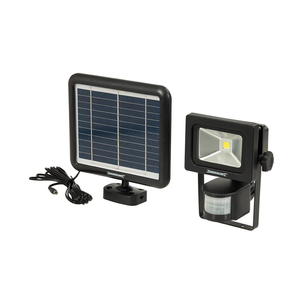 LED PIR schijnwerper op zonneënergie