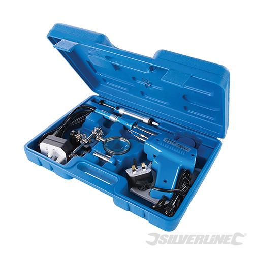 9-delige elektrische soldeer set