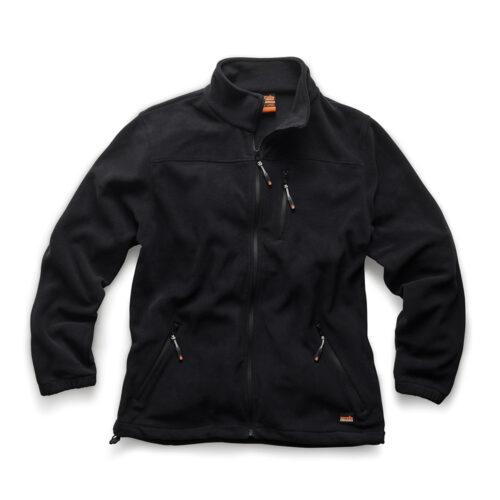 'Worker' waterbestendige fleece, zwart