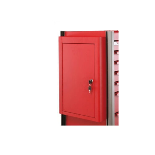 Red Side lock cabinet for 102, 103 trolley