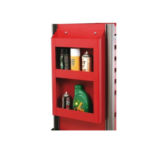Red side shelf for 102, 103 trolley