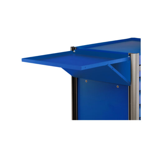 Blue Side table for 102, 103 trolley