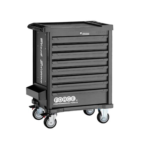 Black edition practical 8-drawer trolley with 415pc tools