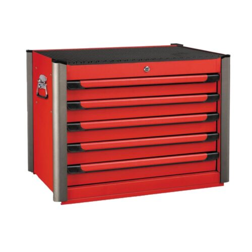 Practical Red 5-drawer tool box Red