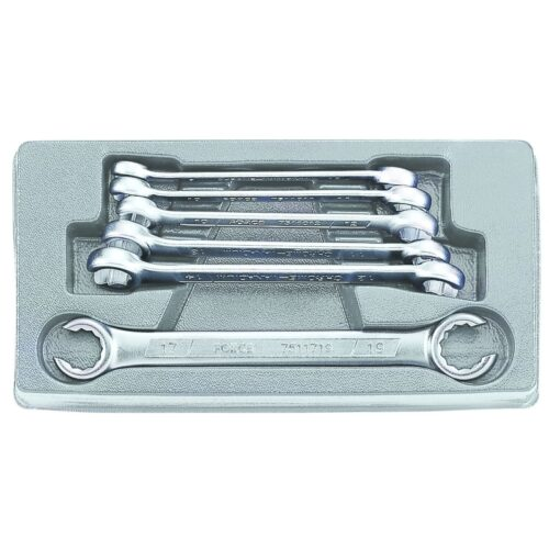6pc Flare nut wrench