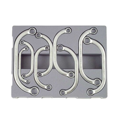 9pc Half-moon ring wrench