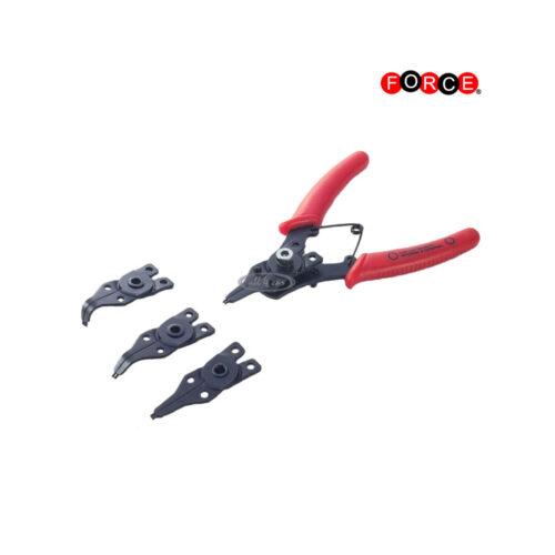 4pc Internal-external snap ring pliers set