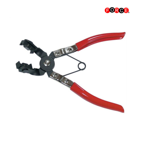 Hose clamp pliers (angle type)
