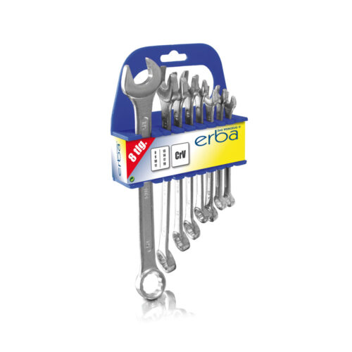 Combination spanners 8pcs 8-19mm