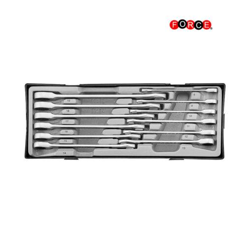 12pc Flat gear wrench set (MM)