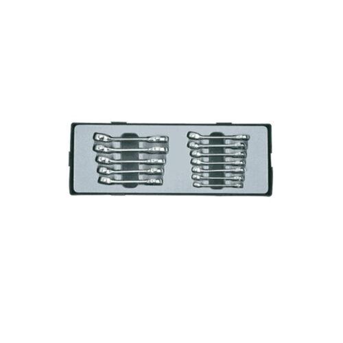 12pc Midget combination wrench