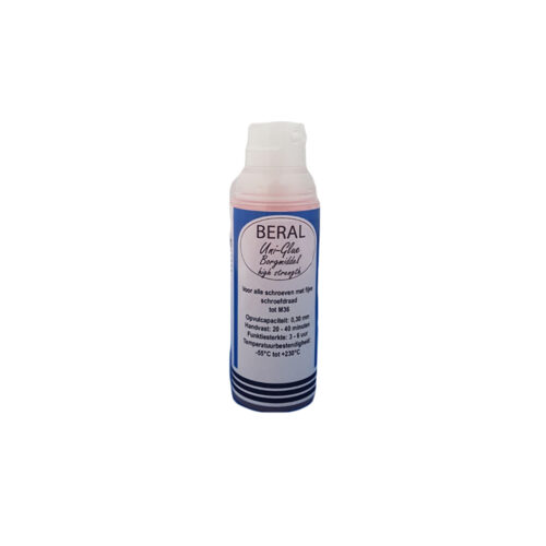 Beral Uni-Glue Borgmiddel blauw medium strength 50ml