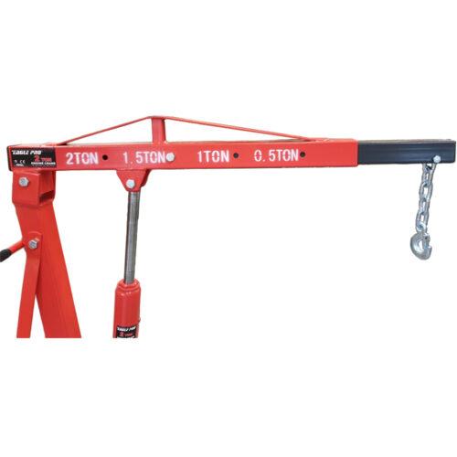 Werkplaatskraan 2 ton inklapbaar (VERVANGER G-12200/E-12200)