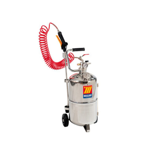 24l wheeled stainless steel sprayer