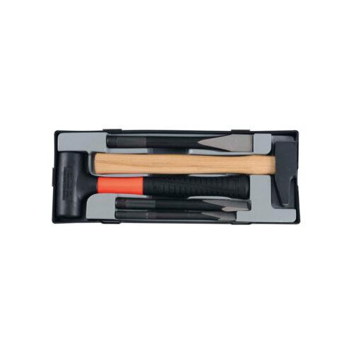 5pc Hammer & chisel set