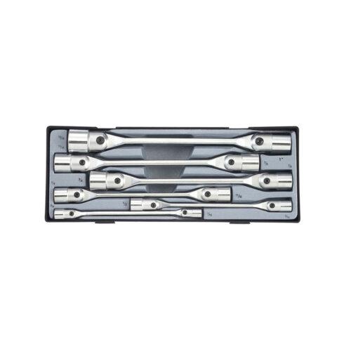6pc Hinged socket wrench set (SAE)