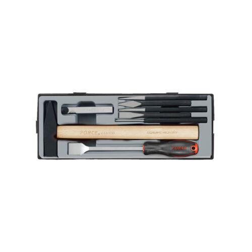 8pc Hammer & chisel set