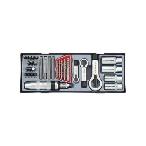 33pc Screw repair tools set