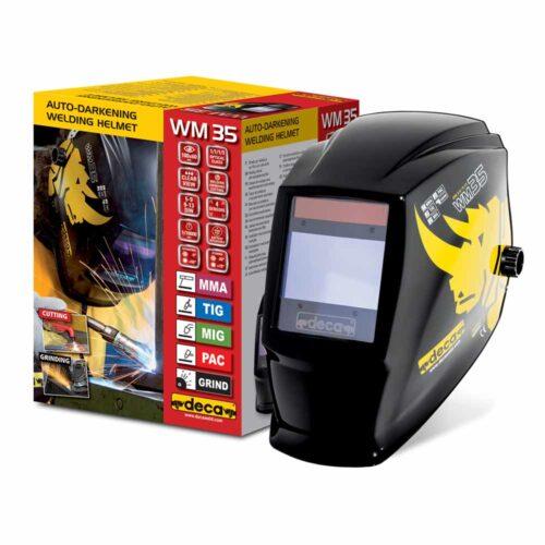 WM35 LCD welding helmet DIN 9>13