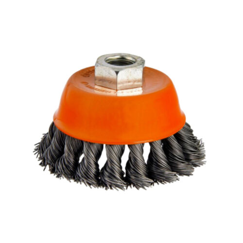 Twisted Wire Cup Brush 75MM
