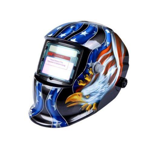 Skull type welding helmet