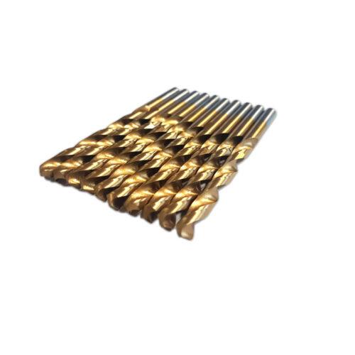 3.0 mm HSS TiN metaalboren 10 stuks