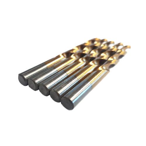12.0 mm HSS TiN metaalboren 5 stuks