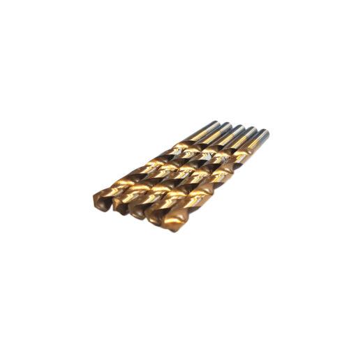 10.0 mm HSS TiN metaalboren 5 stuks