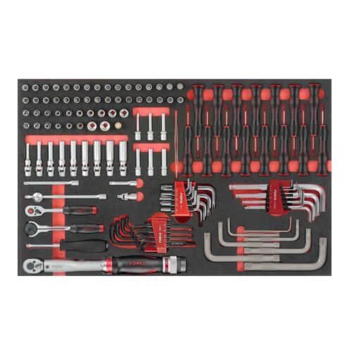 "126pc 1/4""DR. Socket combination & L key set (EVA)"