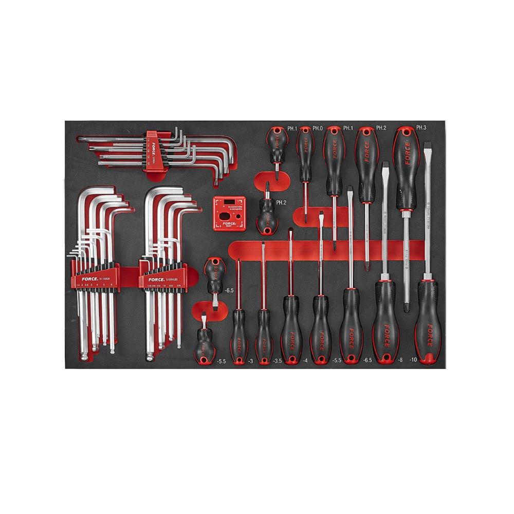 46pc Screwdriver and L key set (S&M) (EVA)