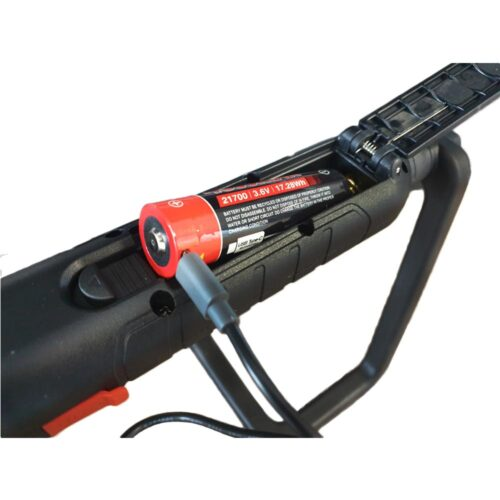 Oplaadbare motorkaplamp (max 2000 lumen)